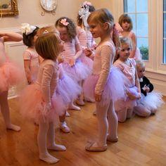 A Little Loveliness: Ballerina Party Fun