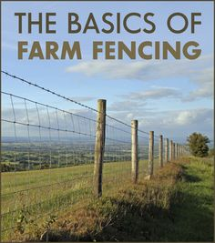 Don't underestimate the value of farm fencing. An easily overlooked asset, a farm fence serves many purposes. It delineates property lines, contains livestock and enhances security. A fence may increase the farm's aesthetic appearance, too.