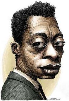 James Baldwin by Adam Zyglis