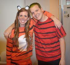 Calvin and Hobbes costume