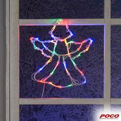 Zur Zeit leider online nicht bestellbar! Auch für die Fenster haben wir die passende Weihnachtsdeko. 35 LED-Lichter #weihnachten