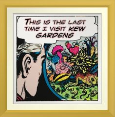 This is the Last Time I visit Kew Gardens - Poster http://www.zazzle.com/this_is_the_last_time_i_visit_kew_gardens_poster-228785556712959187 #poster #humor #KewGardens #London