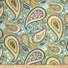 Paisley Fabric Art Paisley Crypton Fabirc Upholstery by RoomKandi