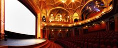The Urania National Film Theater of Budapest, Hungary looks like an opera house. Dine In Theater, Movie Theater, Disney's Hollywood Studios, Orange Cinema, Monuments, Architecture Romaine, Le Grand Rex, Studio Disney, Winter Garden Theatre