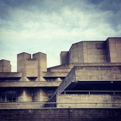The National Theatre. I like Brutalist architecture.