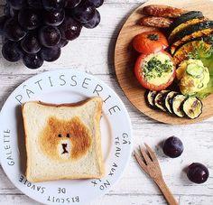 かわいい朝食♡