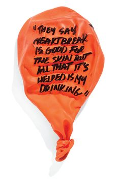 They say heartbreak is good for the skin but by inflateddeflated, $10.00