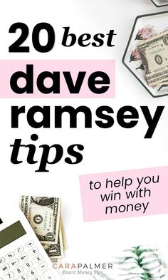 20 Best Dave Ramsey Tips To Help You Win With Money – Money Management Budgeting Finances, Budgeting Tips, Budgeting System, Dave Ramsey Debt Snowball, Total Money Makeover, Win Money, Money Fast, Financial Tips, Financial Assistance