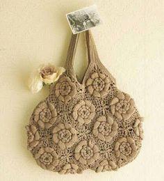 Crochet bag with diagram