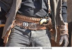 Western Cowboy Cowgirl with Gun | Holster belt Stock Photos, Images, & Pictures | Shutterstock