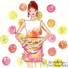 It all started with a Juice Stand... #lilly5x5 #tbt