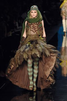 Jean Paul Gaultier Spring 2008  #RenFest costume perfection for an elf