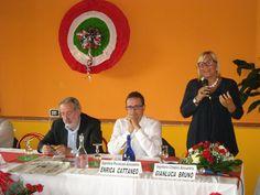 Il Sindaco Rita Rossa ricorda Giuseppe Mirabelli durante la serata dell'Avanti del 27 Settembre 2014.