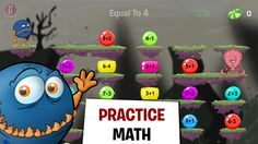 Monster Math - Help Your Kids Mental Mathematic Skills - Fun School Games by Makkajai Edu Tech Private Limited ($0.00) practice and learn addition, subtraction, division, times tables and basic problem solving with Monster Math Pro! Be Maxx's personal math helper as you explore new worlds, battle enemies and find allies in unexpected places by using addition, multiplication, subtraction and division!
