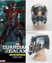 Marvel Guardians of the Galaxy Peter Quill / Star-Lord Cosplay Mask Cosplay Accessory Prop