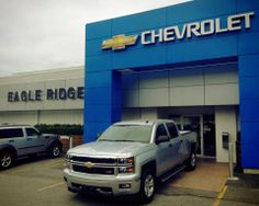 Chevrolet Silverado at Eagle Ridge GM!  http://eagleridgegm.com