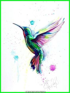 Tolle ORIGINAL Kolibri Aquarell, Vogel Skizze, Kolibri Aquarell, Illustration, Bi ...  #aquarell #kolibri #original #skizze #vogel Vogel Tattoo, Aquarell Tattoos, Watercolor Tattoo, Illustration, Hummingbird Drawing, Watercolor Hummingbird, Sketches, Drawing S, Bird Sketch
