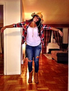 scarecrow | 15+ Super Fun Halloween Costumes for Girls