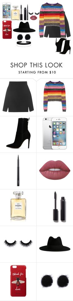 """""""Sem título #1452"""" by toranja ❤ liked on Polyvore featuring Topshop, Miu Miu, ALDO, AT&T, MAC Cosmetics, Lime Crime, Chanel, Yves Saint Laurent, Gucci and Miss Selfridge"""