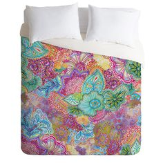 Stephanie Corfee Flourish Allover Duvet Cover | DENY Designs Home Accessories
