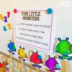 Monster Manners - Engaging Littles