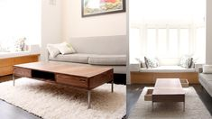 Nice Coffee Table ... Maybe rounded corners would be better with kids & grandkids around???