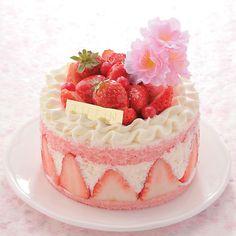 """(Festival de Comida de la primavera Martes 13 de marzo ■ 2.013 años (agua) 26日→ función Sakura estaba abastecido con productos magníficos que parecen saltar sobre el tema de """"Sakura"""". Es el pastel de tonalidad como la primavera. He usado un montón de fresas. ¥ 1,890 (unos 12 cm) ... frase impuesto Tiffin / cherry"""