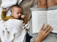 The sweetest story about motherhood from Mama Watters. We can't get enough sleeping babes.