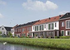 #Broekhorn - Een nieuwe wijk tussen Heerhugowaard en Broek op Langedijk. Autoluw, aan het water en woningen met veel details. #nieuwbouw #bouwfonds
