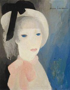 Marie Laurencin, La jeune fille au chapeau