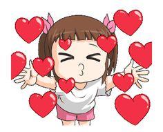 Cartoon Girl Images, Love Cartoon Couple, Cute Cartoon Pictures, Cute Love Pictures, Cute Love Gif, Love Images, Animiertes Gif, Hug Gif, Cute Bunny Cartoon