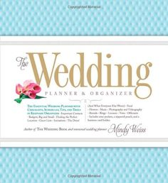 The Wedding Planner & Organizer by Mindy Weiss All-In-One Wedding Planner & Organizer helps couples keep track of every detail leading up to their Big Day. It's the organizer that includes exactly what you need for on-the-go, on-the-ground wedding planning.