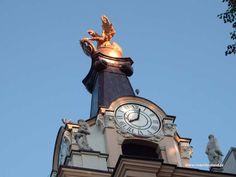 Clock in Bialystok
