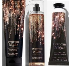 Bath and Body Works Set New Into The Night 3 Items Set Includes: Body Cream, F. - Bath and Body Works Set New Into The Night 3 Items Set Includes: Body Cream, Fragrance Mist, and - # The Body Shop, Bath And Body Sale, Bath And Body Works Perfume, Perfume Body Spray, Make Up Tools, Bath Body Works, Victoria Secret Perfume Set, Parfum Victoria's Secret, Sephora
