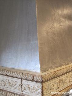 painted metal hood martha multi surface metallic acrylic paint in titanium