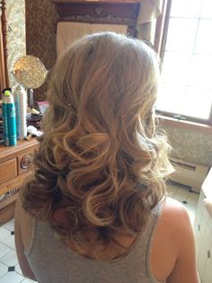 retro waves - love this look!