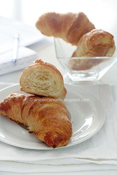 croissant con il lievito madre...by anice e cannella