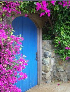 Cool Doors, Unique Doors, When One Door Closes, Door Entryway, Door Gate, Garden Gates, Garden Pond, Garden Planters, Shade Garden