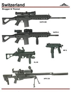 Brugger and Thormet Weaponry. SAPR and MP9