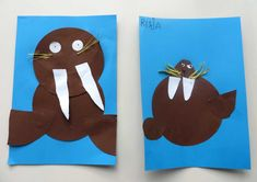 Arctic 038 Antarctic - The world's most private search engine Polar Animals, Polar Bear, Winter Kids, Winter 2017, Morse, Curious Kids, Ecole Art, Fall Projects, Wal