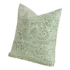$47.  Island Emerald Indoor/ Outdoor Accent Pillow