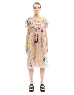 Silk dress by Ashish — SVMoscow