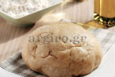 Amateur Cook Professional Eater - Greek recipes cooked again and again: Home made dough for sweet pizzas Greek Recipes, Desert Recipes, Pizza Recipes, Cooking Recipes, Cypriot Food, My Favorite Food, Favorite Recipes, Sweet Pizza, Pie Crust Dough