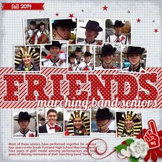 Created with She's My Best Friend templates by Queen Wild Scraps and Football Fans - Red by Wimpychompers