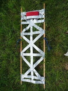 Emergency Duct Tape Field Stretcher DIY Project    Homestead Survival  Disaster Preparedness Medical