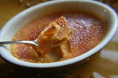 sweet potato creme brulee - could it be as good as acacias!!?!