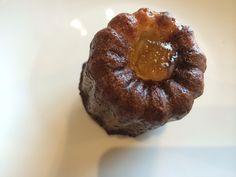 Orange blossom canele.. A twist of the original french rum cake.