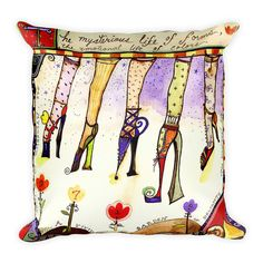 NEW! Pillows on etsy form the Art of Wendy Costa