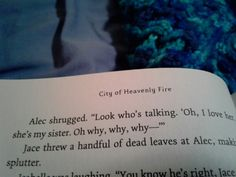 Sassy Alec in City of Heavenly Fire is everything Alec And Jace, Clary And Jace, Mortal Instruments Books, Shadowhunters The Mortal Instruments, Serie Got, Film Serie, Book Tv, Book Nerd, Book Memes