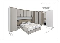 Bed with cupboard in small bedroom - Bed with cupboard in small bedroom ., Bed with cupboards in small bedroom - Bed with cupboards in small bedroom . - Bed with cupboards in small bedroom - Bed with cupboards in small bedr. Small Bedroom Interior, Bedroom False Ceiling Design, Small Master Bedroom, Bedroom Closet Design, Bedroom Furniture Design, Modern Bedroom Design, Home Room Design, Home Decor Bedroom, Bedroom Wardrobe